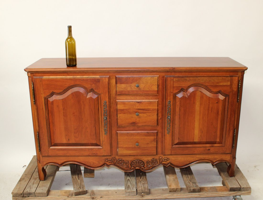 Provincial style sideboard by Ethan Allen