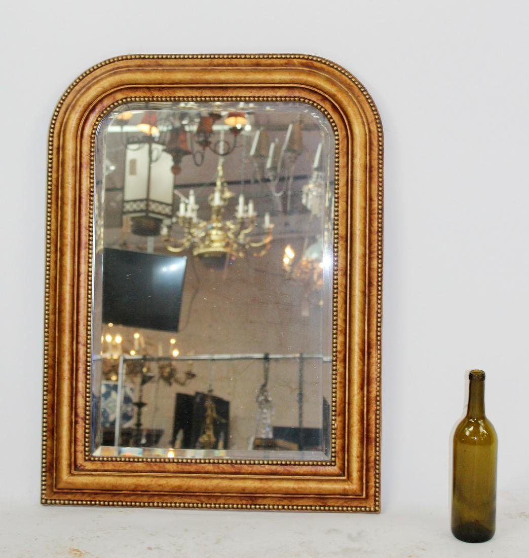 Louis Philippe style framed mirror