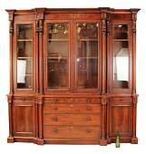 Ralph Lauren Polo mahogany breakfront