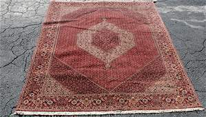 "Persian Bijar rug 8'2"" x 12'10"""