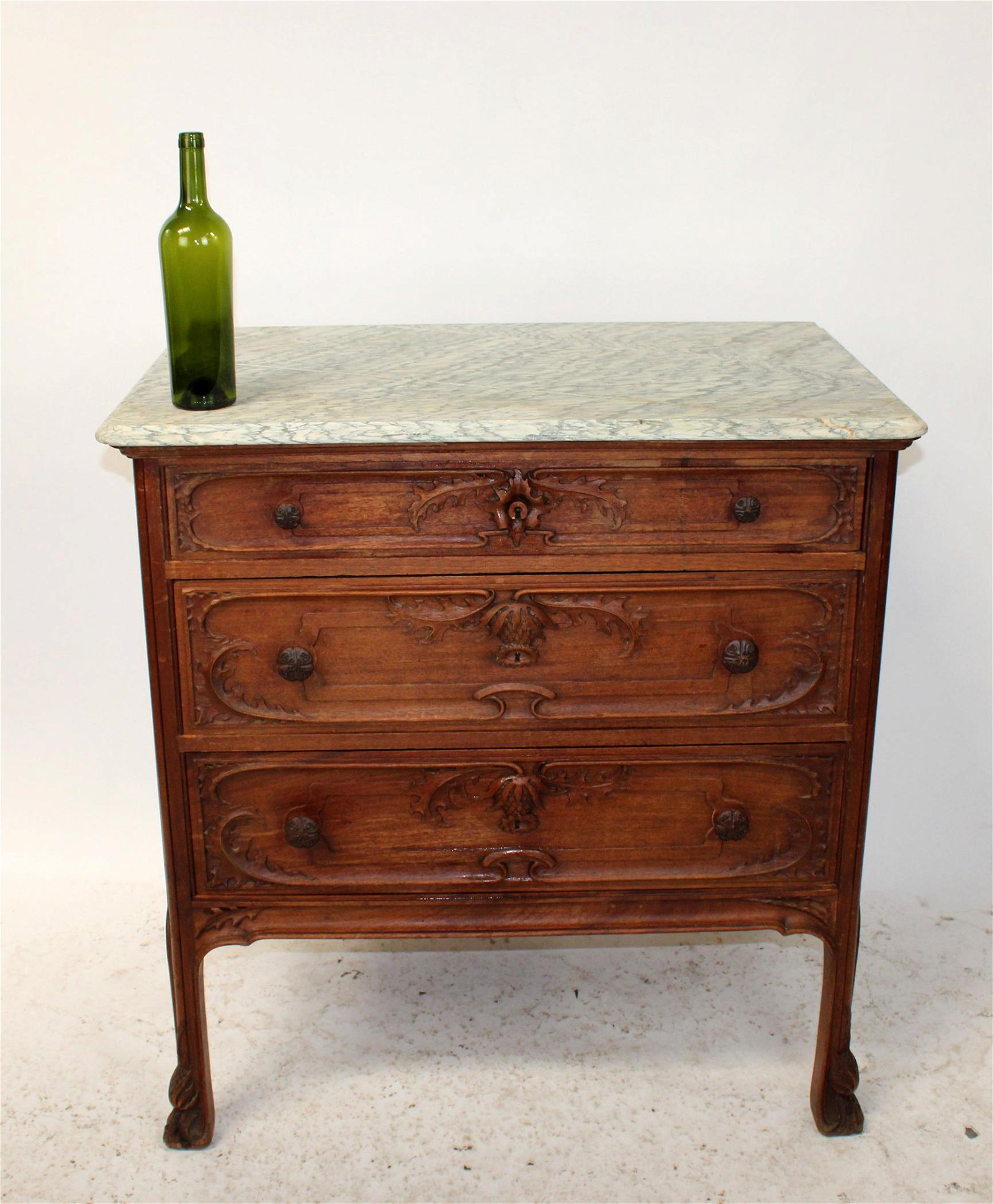 French Art Nouveau commode from Nancy France