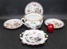 Collection of English ironstone china