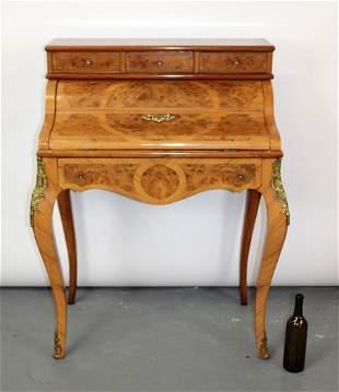 Louis XV style Bonheur du jour desk