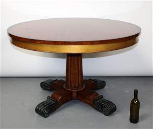 Theodore Alexander empire style foyer table