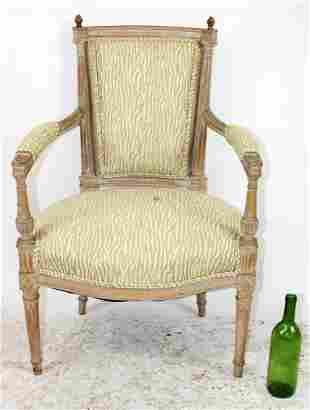 French Louis XVI style armchair