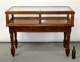 Antique American store counter display case