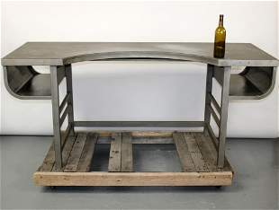 Mid Century industrial metal desk