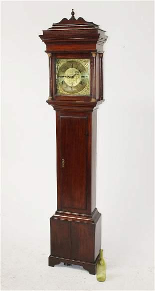 George Everleigh mahogany grandfather clock