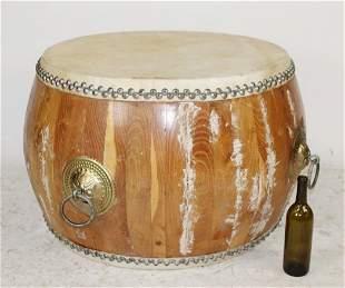 Chinese ceremonial drum