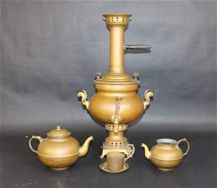 Turkish brass samovar