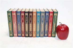 Lot of 12 Easton Press pocket size Library of Poetry