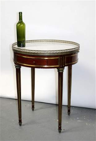 French Louis XVI style gueridon table