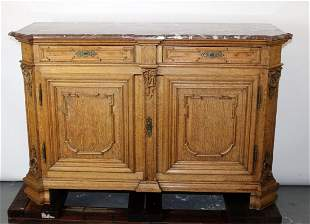 French Regency 2 door buffet bas