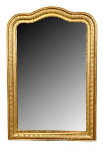 French Louis Philippe gold leaf mirror