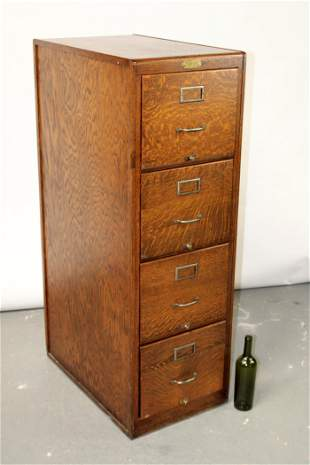 Hoskins Office outfitters 4 drawer file cabinet