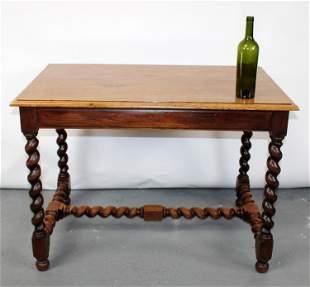 French Louis XIII bureau plat desk