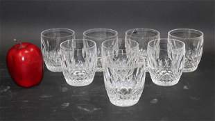 Set of 8 Waterford Colleen Old Fashioned glasses