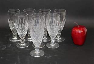 Set of 8 Waterford Colleen short stem champagne flutes