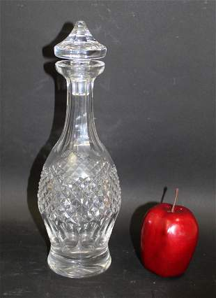Waterford Colleen cut crystal wine decanter