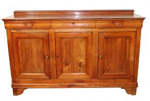 French Louis Philippe 3 door sideboard