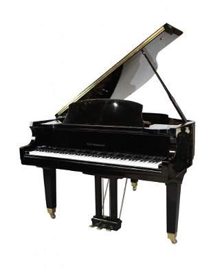 DH Baldwin C172 5ft8 black lacquer baby grand piano
