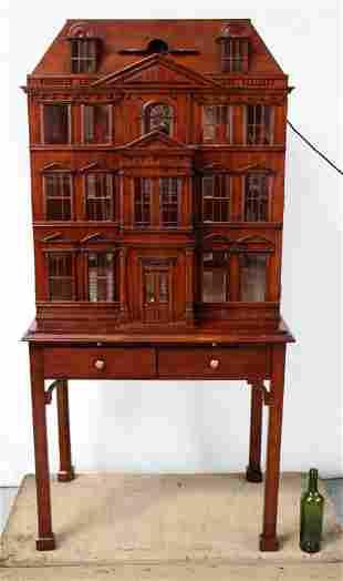 Maitland Smith Town House bar cabinet