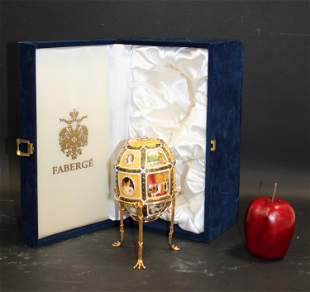 Commemorative Faberge 15th Anniversary egg
