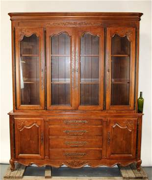 Henredon Pierre Deux French Country china cabinet