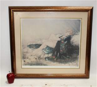 Louis Icart framed print