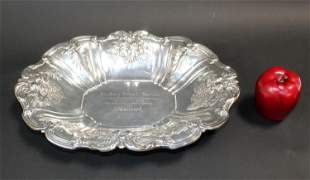 Reed & Barton Francis I sterling silver oval dish