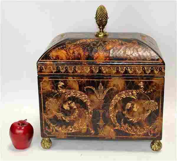 Maitland Smith decorative dome top box