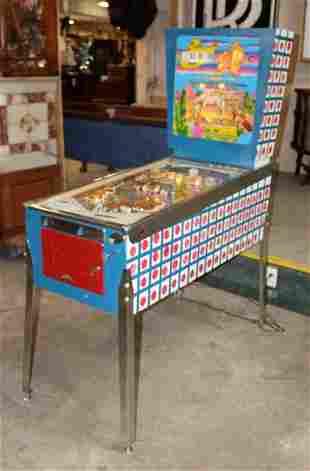 1965 Gottlieb Buckaroo pinball machine