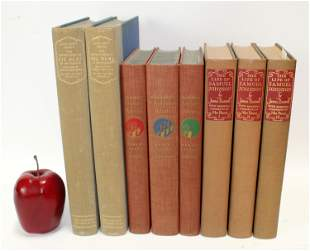 """Lot of 8 """"The Limited Editions Club"""" books"""