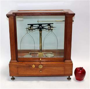 Antique Arthur Thomas Co pharmacy scale