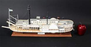 Robert E. Lee River Boat model