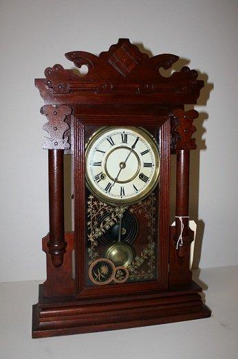 "4: ""New Haven Clock Company"" American shelf clock"