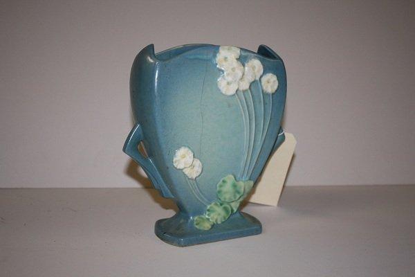 8A: Roseville double handled Primrose vase