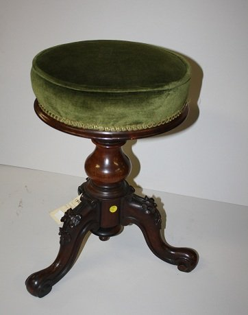 9: Victorian piano stool