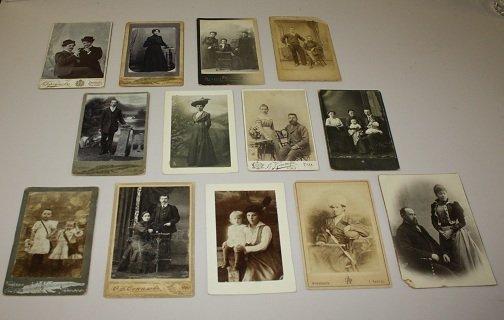 11: Lot of 13 vintage photographs, miscellaneous subjec