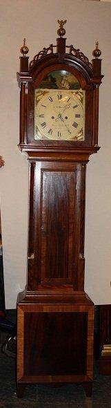 100A: Aaron Willard, Jr. Chippendale tall case clock