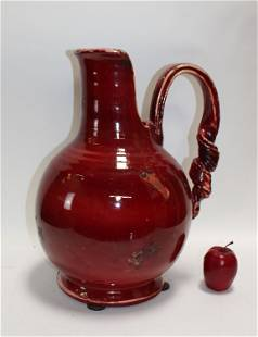 Tuscany Fortunata oversize ceramic pitcher
