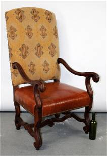 Ralph Lauren Louis XIV style armchair
