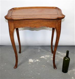 French Louis XV side table in cherry