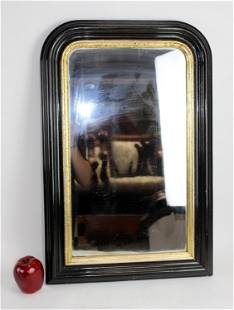 French Louis Philippe ebonized mirror
