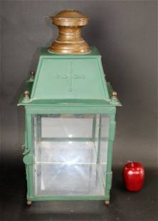 Antique French carriage house lantern