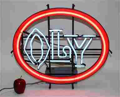 Vintage Olly neon sign