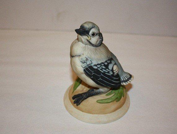 13: Boehm baby blue bird porcelain