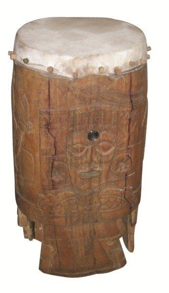 16: Chichimeca ceremonial drum