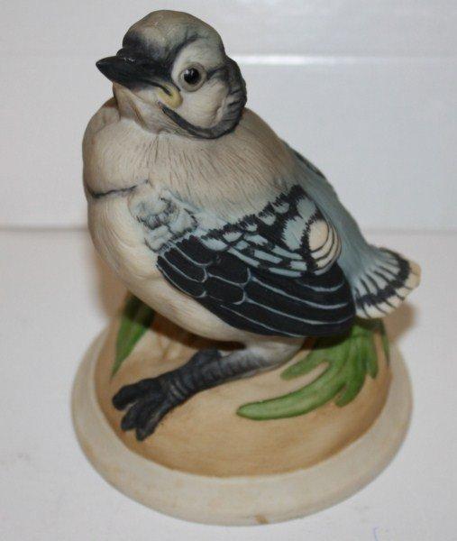 18: Boehm porcelain baby blue bird