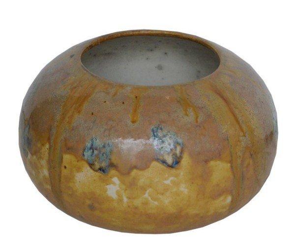 80: Rare Louis Comfort Tiffany favrile pottery vase